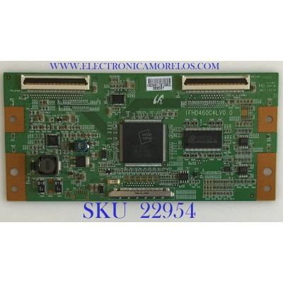T-CON PARA TV NEC / LJ94-02891C / IFHD460C4LV0.0 / 02891C / MODELO P461