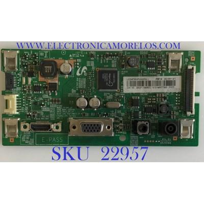 MAIN PARA MONITOR SAMSUNG / BN94-18450C / BN41-02507B / PANEL CY-PK236BNLV3F / MODELO LC24F390FHNXZA