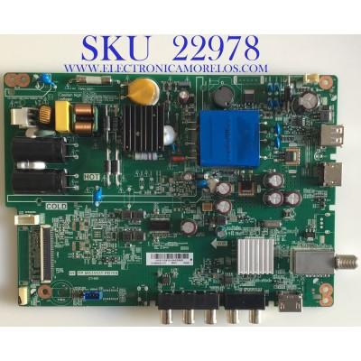 MAIN FUENTE PARA TV LG / 4300011019 / TP.MS3553T.PB769 / 60101-00984 / 20170513 / H18113910-0A02450 / PANEL BOEI280WX1 / MODELO 28LJ400B-PU.CUSBLP