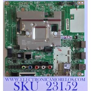 MAIN PARA TV LG 4K Ultra HD RESOLUCION (3840 x 2160) / EBT66059504 / EAX68253605(1.1) / RU03Q1ADR6 / PANEL NC600DQE-VSHP1 / MODELO 60UM7100DUA.BUSNLOR