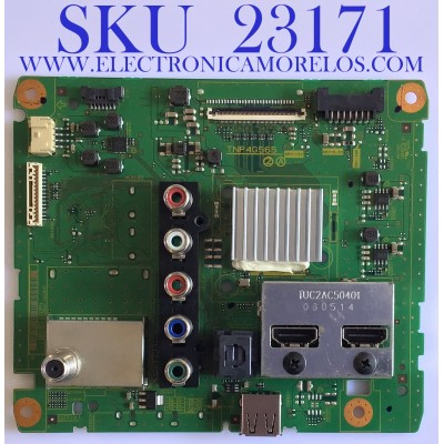 MAIN PARA TV PANASONIC / TNP4G565UH / TNP4G565 / PANEL V400HJ6-ME REV.C1 / MODELO TC-40A420U