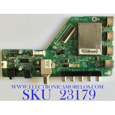 MAIN PARA TV SHARP / 756TXFCB01K0170 / 715G7447-M01-000-004Y / (X)XFCB01K017000X / PANEL TPT315B5-HVN05.A REV:S800B / MODELO LC-32LB370U