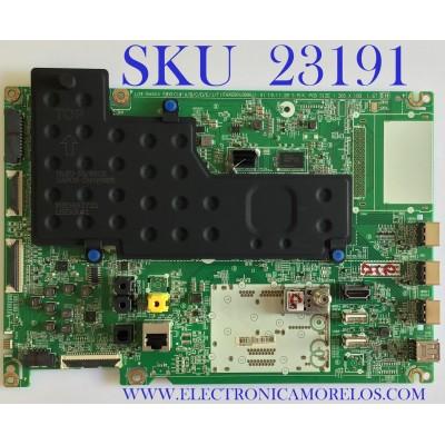 MAIN PARA SMART TV LG 4K Ultra HD RESOLUCION (3,840 x 2,160)/ EBT66416903 / EAX69049006(1.0) / PANEL LE650AQD(EN)(A1) / MODELOS OLED65CXAUA.BUSWLJR / OLED65CXPUA.BUSWLJR