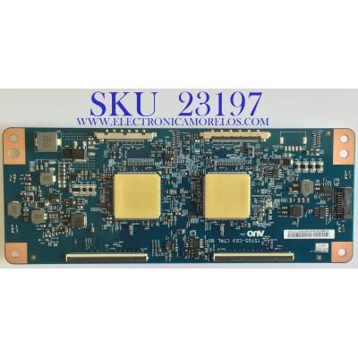 T-CON PARA TV VIZIO / 55.65T56.C06 / 75T05-C03 / 5565T56C06 / PANEL T650QVF09.2 / MODELO PX65-G1 LTMAYOKV / PX65-G1LTYAYONW