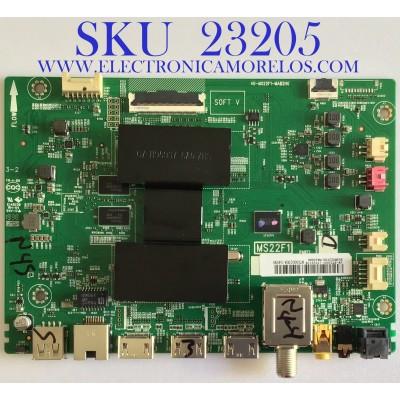 MAIN PARA SMART TV TCL 4K UHD HDR Roku / SVSMS22F03-MA200AA / MS22F1 / 40-MS22F1-MAB2HG / PANEL LSC550FN11 / MODELO 55S423 / 50S423 MEBA