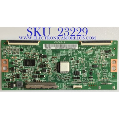 T-CON PARA TV SONY / 1-007-123-11 / CSC05-1 / 34291100920 / ST5461D11-1 / PANEL ST5461D11-1-XR-4 / MODELO KD-55X75CH