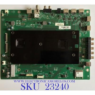 MAIN PARA SMART TV VIZIO 4K CON HDR  / XJCB0QK005 / 715GA075-M01-B00-005K / (X)XJCB0QK00520X/ITIKA6 / PANEL T650QVF09.2 / MODELO PX65-G1 LTYAYONW