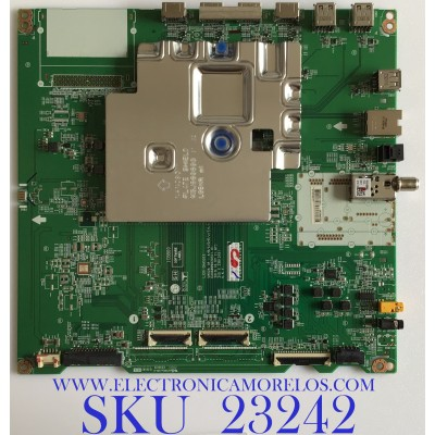 MAIN PARA SMART TV LG 4K UHD NanoCell RESOLUCION (3,840 x 2,160) / EBT66457001 / EAX68990203(1.0) / PANEL NC860DQD-AAHH5 / MODELO 86NAN090UNA.BUSWLJR