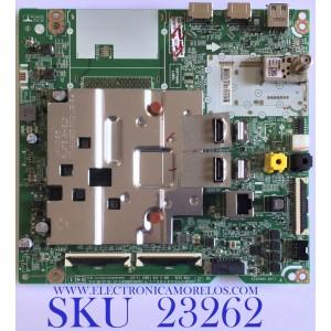 MAIN PARA SMART TV LG 4K UHD CON HDR RESOLUCION (3840 x 2160) / EBT66514201 / EAX69109604(1.0) / PANEL NC750DQH-AAHR1 / MODELO 75UN8570AUD.BUSWLKR
