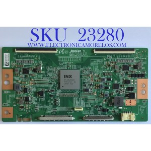 T-CON PARA TV SONY / NUMERO DE PARTE 1-006-266-11 / B0043Z000 / 3KKDK3010 / E88441 / PE808500KQ / B002CH300 / PANEL YDAF075DNN01 / MODELO XBR-75X950H / XBR75X950H