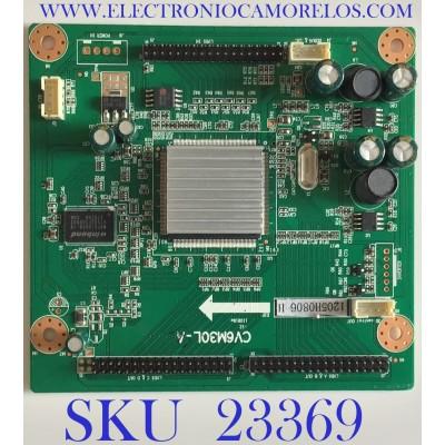 INTERFACE PARA TV PROSCAN / 1205H0806 / CV6M30L-A / 1.06.57.02100 / 101000401H / 20120524X000963 / PANEL T370HW04 V.1 / MODELO PLED3792A