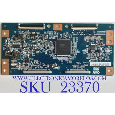 T-CON PARA TV PROSCAN / 55.37T06.C19 / 31T12-C04 / 5537T06C19 / T315HW05 V0/V1 / PANEL T370HW04 V.1 / MODELO PLED3792A