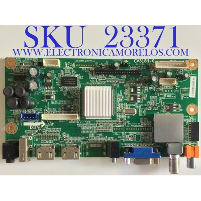 MAIN PARA TV PROSCAN / 1204H0528A / CV318H-X / 1.80.00.02103 / 100808804H / 20120518X008081 / PANEL T370HW04 V.1 / MODELO PLED3792A