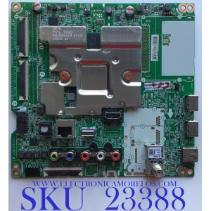 MAIN PARA SMART TV LG 4K UHD CON HDR RESOLUCION (3,840 x 2,160) / EBT66458402 / EAX69083603(1.0) / PANEL NC550DQG-AAHX3 / MODELO 55UN7300AUD.BUSWLKR