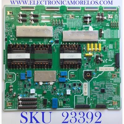 FUENTE DE PODER PARA SMART TV SAMSUNG / BN44-00980C / L65S9NRA_RHS / BN4400980C / PANEL CY-TR065FLLV1H / MODELO QN65Q90RAFFXZA FA02