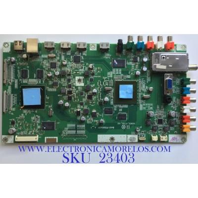 MAIN PARA TV PHILIPS / A01P8MMA-001 / BA01P5G0401 4_1 / A01P8UH / 110415P07A / PANEL LTA400HF10 / MODELO 40PFL7705D/F7