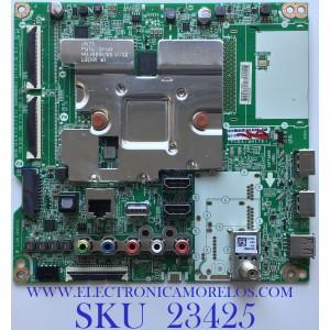 MAIN PARA SMART TV LG 4K Smart UHD NanoCell RESOLUCION (3,840 x 2,160) / EBT66493402 / EAX69083603(1.0) / PANEL NC550EQG-AAHH1 / MODELO 55NANO81ANA.BUSWLOR