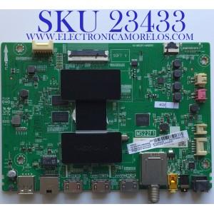 MAIN PARA TCL 4K UHD HDR ROKU SMART TV RESOLUCION (3840 x 2160) / 08-SS65CUN-OC412AA / 40-MS22F1-MAB2HG / 08-MS22F01-MA200AA / 08-MS22F01-MA300AA / PANEL LVU650NDEL / MODELO 65S421