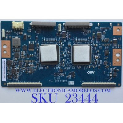 T-CON PARA TV SONY 4K ULTRA HD SMART TV / NUMERO DE PARTE 55.85T13.C02 / 5585T13C02 / 85T12 C02 / PANEL YDAF085DNU01 / MODELO XBR85X900H / XBR-85X900H