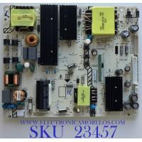 FUENTE DE PODER PARA TV W BOX / P0Q19110649-00906 / LYP04390A0 / 465R10135DJB / K-PL-FH2 / 9012-112047-16004301 / PANEL K550WDC2 / MODELO 0E-55LED4KA