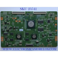 T-CON PARA TV SAMSUNG / LJ94-03862B / 2010_R240S_MB4_1.0 / 03862B / PANEL LFT550HQ03-A07 / MODELO UN55C8000XFXZA SQ01