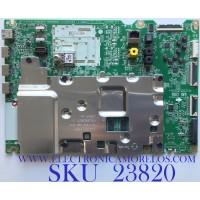 MAIN PARA SMART TV LG OLED 4K UHD CON HDR RESOLUCION (3,840 x 2,160) / NUMERO DE PARTE EBT65973003 / EAX68784904 (1.0) / RU97C6A26D / PANEL AC650AQL EMA1 / MODELO OLED65B9PUA.DUSQLJR