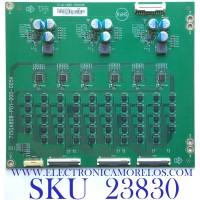 LED DRIVER PARA TV VIZIO / NUMERO DE PARTE LNTVJU12ZXAA1 / 715GA808-P01-000-005K / (X)LNTVJU12ZXAA1 / PANEL TPT550U1-QVN05.U REV:S5DB1H / MODELO M55Q8-H1 LTYWZLKW