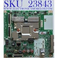 MAIN PARA SMART TV LG 4K UHD CON HDR RESOLUCION (3,840 x 2,160) / NUMERO DE PARTE EBT66488002 / EAX69083603 (1.0) / PANEL NC750DQG-ABGR3 / MODELO 75UN7070PUC.BUSFLKR