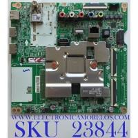 MAIN PARA SMART TV LG 4K UHD CON HDR RESOLUCION (3840 x 2160) / NUMERO DE PARTE EBR31196734 / EAX69083603 (1.0) / PANEL LVU650BEDX E0001 / MODELO 65UN7000PUD.CUSFLH