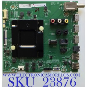 MAIN PARA SMART TV (ANDROID) HISENSE 4K ULED RESOLUCION (3840 x 2160) / NUMERO DE PARTE 263881 / RSAG7.820.9615/ROH / 263882A / PANEL JHD650X3U81-TA\S0\FJ\GM\ROH / MODELO 65H8G