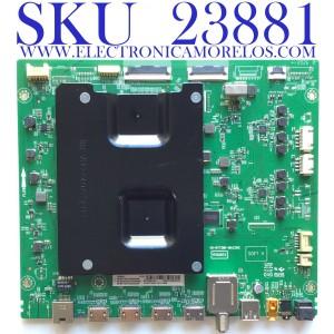 MAIN PARA SMART TV (ROKU) TCL 4K QLED DOLBY VISION HDR RESOLUCION (3840 X 2160) / NUMRO DE PARTE 08-CS55CUD-OC400AA / 40-RT73M1-MAC2HG / RTD2873 / V8-RT73K01-LF1V1664 / 08-RT73007-MA200AA / 08-RT73007-MA300AA / PANEL LVU550NDHL / MODELO 55R635