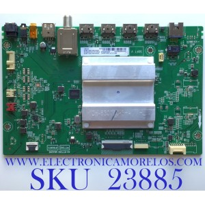 MAIN PARA SMART TV (ROKU) TCL 4K QLED DOLBY VISION HDR RESOLUCION (3840 x 2160) / NUMERO DE PARTE 08-CS55CUN-OC424AA /  40-RT73H2-MAA2HG / 08-RT73005-MA200AA / V8-RT73K01-LF1V1660 / PANEL LVU550NDJL CD9W00 / MODELO 55S535