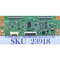 T-CON PARA TV SAMSUNG / NUMERO DE PARTE 6CPV694AT353608MK00001 / PANEL CY-HH058BGNV1H / MODELO UN58H5202AFXZA IS01