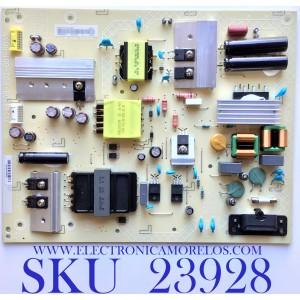 FUENTE DE PODER PARA TV 4K HDR SMART TV RESOLUCION (3840 X 2160) / NUMERO DE PARTE ADTVJ1821AC6 / 715G9208-P02-001-003S / (X)ADTVJ1821AC6 / PANEL TPT550U1-QVN05.U REV:S5DB1J / MODELOS M55Q7-H1 / M55Q7-H1 LTCWZXKW / M55Q7-H1 LTCWZXLX