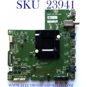 MAIN PARA SMART TV HISENSE (ROKU) 4K UHD CON HDR  RESOLUCION (3840x2160) / NUMERO DE PARTE  243905 / RSAG7.820.8252/ROH / 243904 / PANEL V650DJ4-QS5 REV.C1 / MODELO 65RGE1
