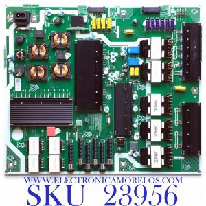 FUENTE DE PODER PARA TV SAMSUNG QLED 4K UHD CON HDR SMART TV / NUMERO DE PARTE  BN44-01034A / L65S9NA_TSM / BN4401034A / PANEL CY-TT065FLLV5H / CY-TT065FLAV5H / CY-TT065FLLV2H MODELO QN65Q90TAFXZA FB03 / QN65Q90TAFXZA AB04 / QN65Q90TAFXZA FA02