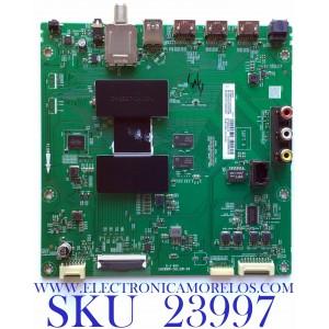 MAIN PARA SMART TV TCL (ROKU) 4K UHD CON HDR RESOLUCION (3840 x 2160) / NUMERO DE PARTE  08-CS55CUN-OC416AA / 40-MST10C-MAB2HG / 08-MST1001-MA200AA / V8-ST10K01-LF1V1282 / PANEL LVU550ND1L CD9W26 / MODELO 55S405