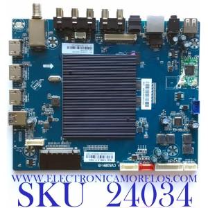 MAIN PARA TV ELEMENT / NUMERO DE PARTE 103100048 / CV838H-B / CV838H_B_11_170818 / 7.D838HB110000.0E0 / E18122-1-SY / H2E03104A0 / E254667 / E18112-SY / PANEL´S ST5461D07-1-XR-2 / LC546PU2L02 / MODELO E4STA5517