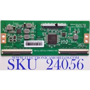 T-CON PARA TV ELEMENT / NUMERO DE PARTE  XKCV500U1T01 / XK-CV500U1-T01(2K TO 4K) / PANEL CV500U1-T01 / MODELO E2SW5018