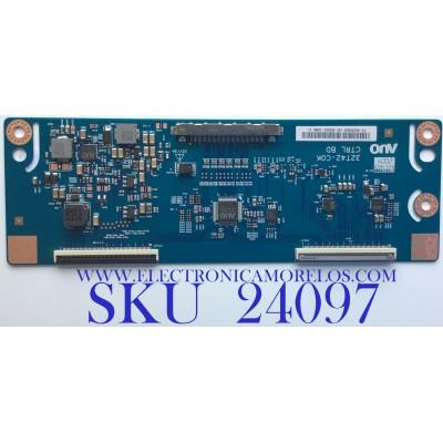 T-CON PARA TV VIZIO / NUMERO DE PARTE 55.32T42.C38 / 32T42-COK / 5532T42C38 / PANEL TPT320B5-HVN05.A REV:S601C / MODELO D32F-G1 LTMWQMMW