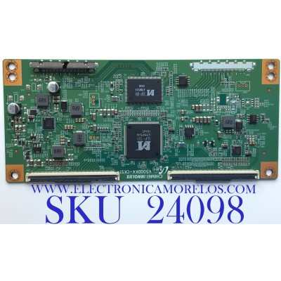 T-CON PARA TV ELEMENT / NUMERO DE PARTE TXT01B01 / V500DK4-CKS1 / TXT01B01-UC24 / TXT01B01-UC24-12E50F5586-68M / PANEL MD5009YTIF / MODELO ELFW5017