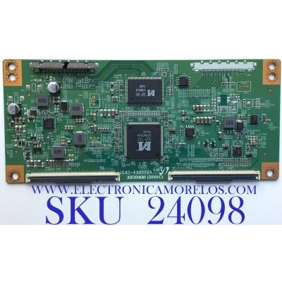 T-CON PARA TV ELEMENT / NUMERO DE PARTE TXT01B01 / V500DK4-CKS1 / TXT01B01-UC24 / TXT01B01-UC24-12E50F5586-68M / PANEL´S MD5008YTIF / MD5009YTIF / MODELO ELEFW5017 LE-50GAM-D3