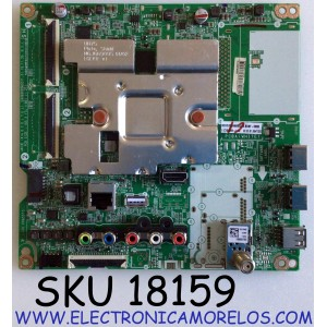 MAIN PARA TV LG 4K SMART UHD TV / NUMERO DE PARTE EBT66473202 / EAX69083603 / EAX69083603(1.0) / PANEL NC650DQG-ABGXA / MODELO 65UN6950ZUA / 65UN6950ZUA.BUSFLKR