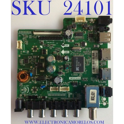 MAIN / FUENTE (COMBO) PARA TV INSIGNIA / NUMERO DE PARTE B15020867 / 3MS93AX8 / 32D220NA16 / TE.MS3393.EB783 / A14426 / 02-MHY934-C004000 / 2605026C0 / PANEL LVW320CSDX E15 V2 / MODELO NS-32D220NA16