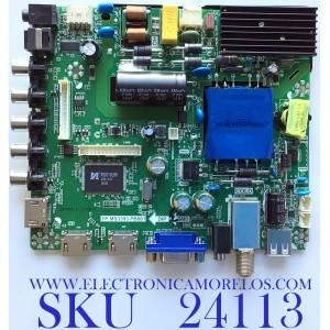 MAIN FUENTE (COMBO) PARA TV ELEMENT / NUMERO DE PARTE H17050982 / 21005879 / V500DJE-QE1-T1 / E17011-KK-3 / PANEL MD5005YTIF / MODELO ELFW5017 R712RRR