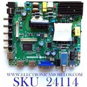 MAIN FUENTE (COMBO) PARA TV ELEMENT / NUMERO DE PARTE L17051814 / TP.MS3393.PB801 / T500HVN08.2 / E17134-3-SY / PANEL T500-V35-DLED / MODELO ELFW5017 F7A2M0