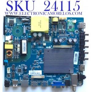 MAIN FUENTE (COMBO) PARA TV ELEMENT / NUMERO DE PARTE 103100069 / CV6486H-A42 / E18032-SY / CV6486H_A42_11_171117 / 7.D6486HA42110.3A5 / 81K0192 / 378538066 / PANEL T500-TGF-DLED / MODELO E2SW5018 C8C9M6B