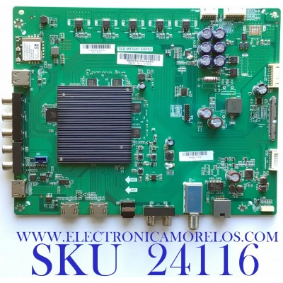 MAIN PARA SMART TV 4K UHD CON HDR / NUMERO DE PARTE  755.02J01.A001 / TED.MT5597.EB763 / 75502J01A001836A14A2JS1A / A18084418-0P00254  / A06A44CSEA36 / PANEL LSC550FN11-401 / MODELO D55-F2 LWZQWXLU