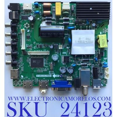 MAIN FUENTE PARA TV ELEMENT / NUMERO DE PARTE  H17061291 / TP.MS3393.PB801 / E17134-4-SY / H17061291-1A02727 / 20170331_114301 / PANEL T500-V35-DLED / MODELO ELFW5017