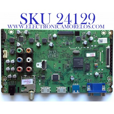 MAIN PARA TV MAGNAVOX / NUMERO DE PARTE  A21UGMMA-001 / BA21F0G0401 Z_2 / A21UGUH / A21UG-MMA / PANEL V500HJ1-L01 REV.C1 / MODELO 50MF412B/F7